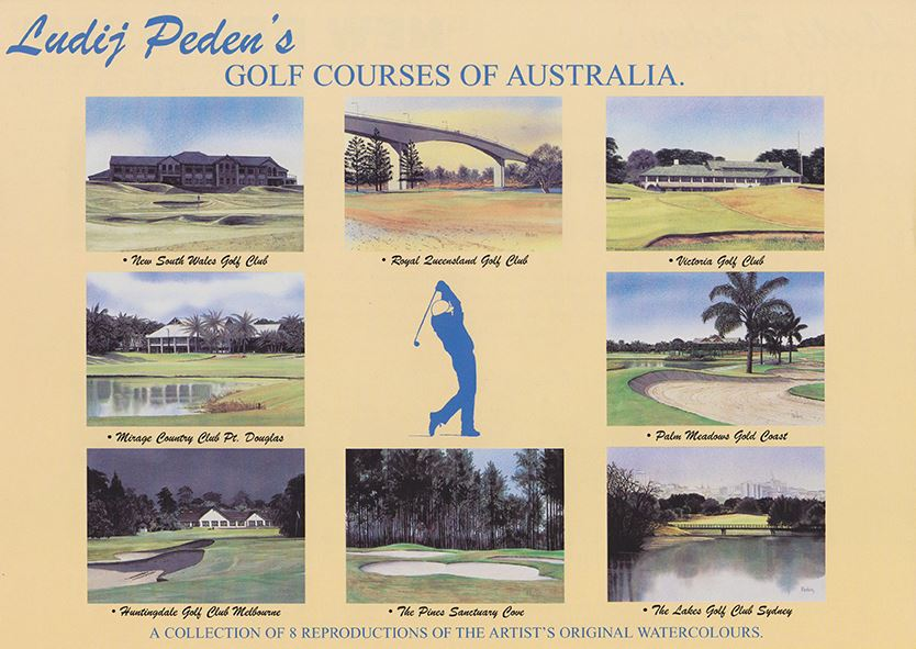 Golf Courses of Australia