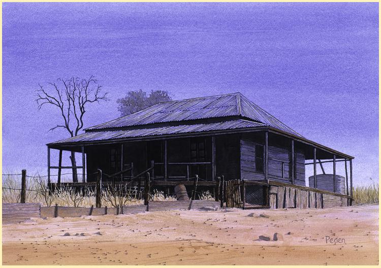 """""""Old House, Kidston"""""""